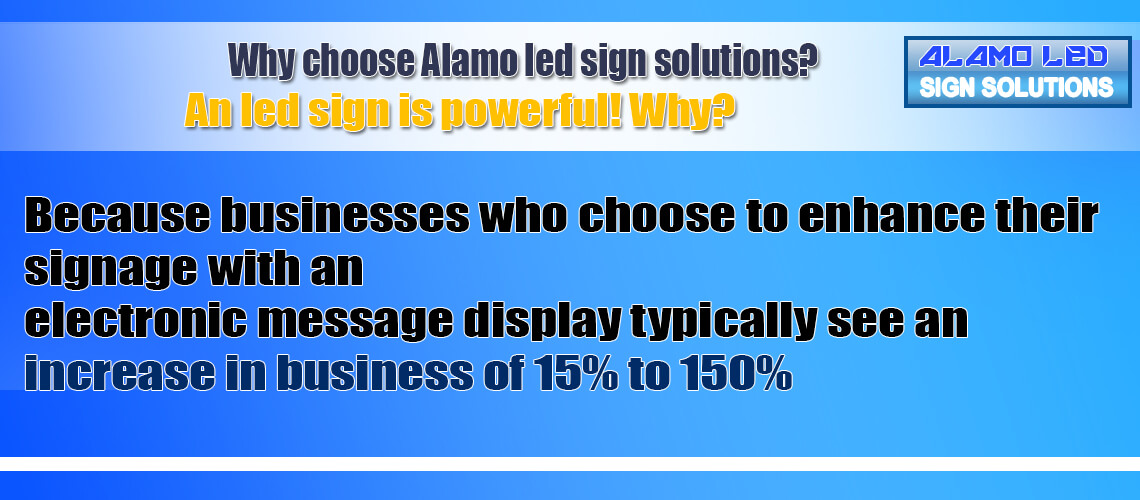 Why AlamoSignsSolutions?
